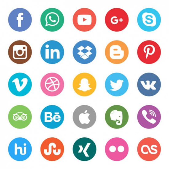 Влияние логотипа в соц сетях
